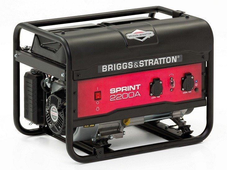 briggs stratton sprint 2200a инструкция