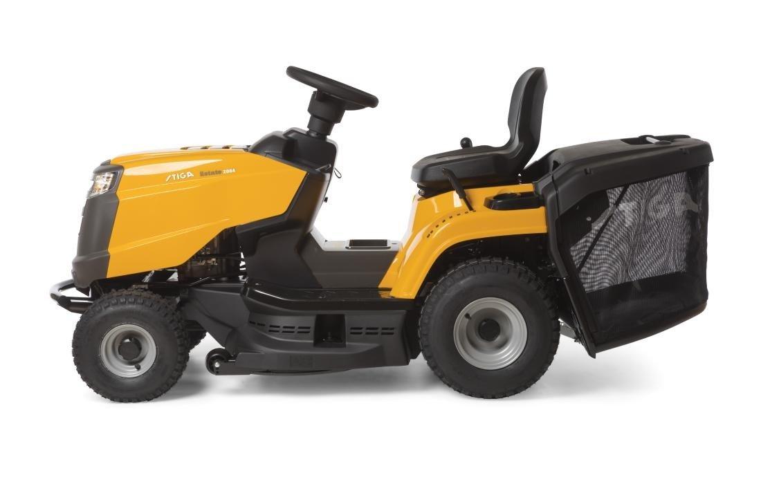 stiga estate 2084 h kosiarka traktorek z koszem i zestawem do mielenia agro metal. Black Bedroom Furniture Sets. Home Design Ideas