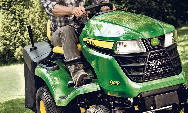 traktorek kosiarka samojezdna john deere x305r agro metal. Black Bedroom Furniture Sets. Home Design Ideas